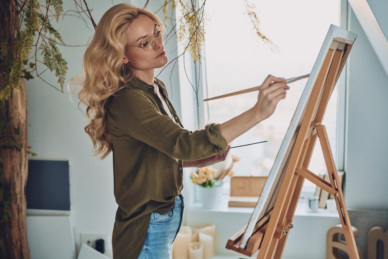 สร้างสรรค์จินตนาการที่ดีด้วยศิลปะ